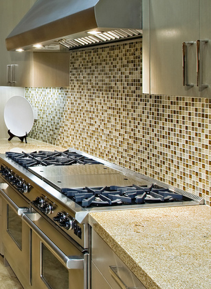 Mosaic splash back