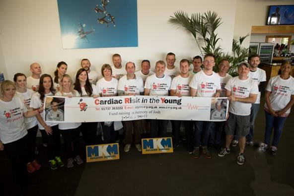 MKM Beverley Branch Skydive for CRY Charity & Josh Fell Memoriak