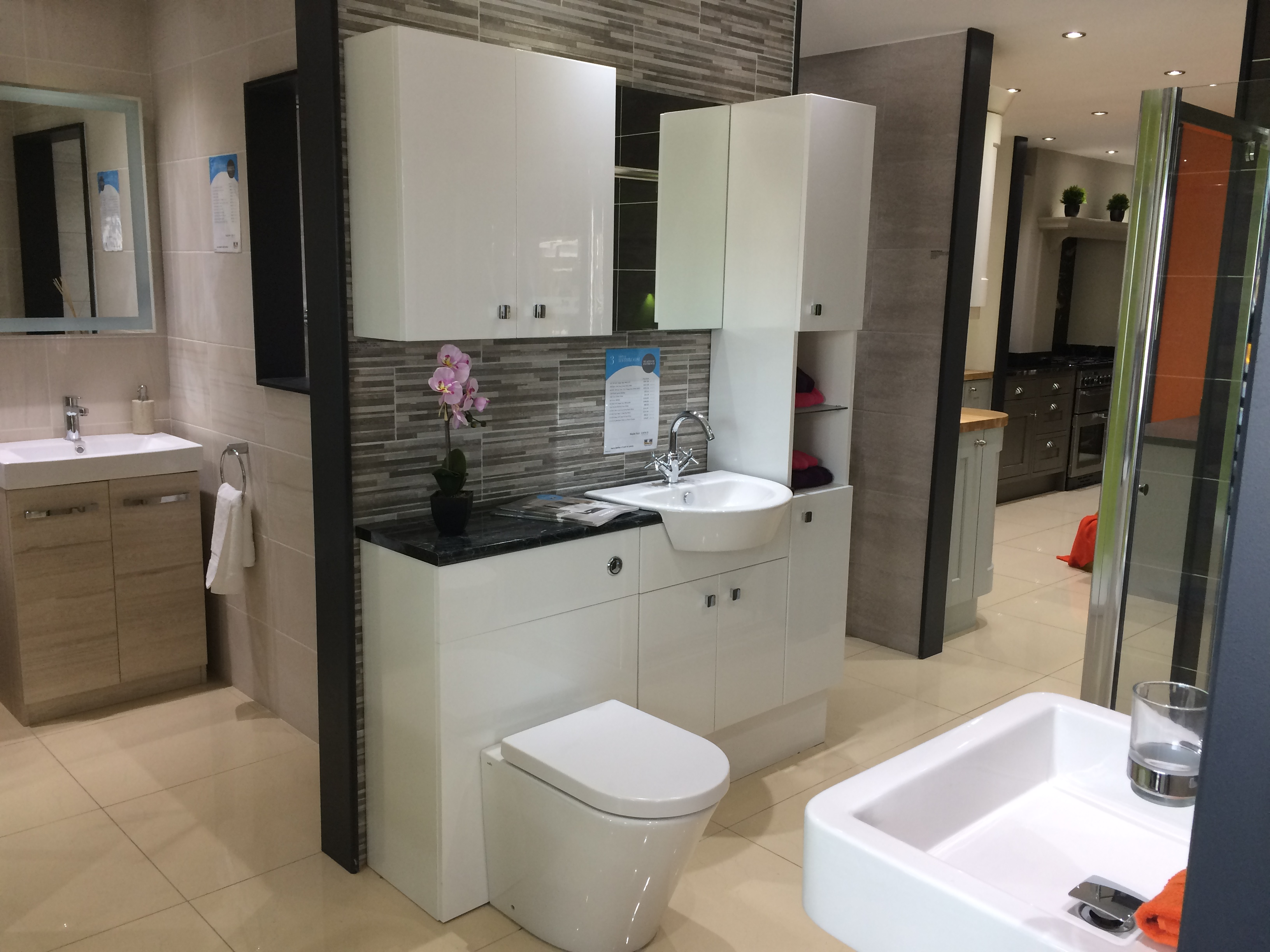 Bathroom Showrooms Queens macclesfield kitchen launch | mkm news & advice