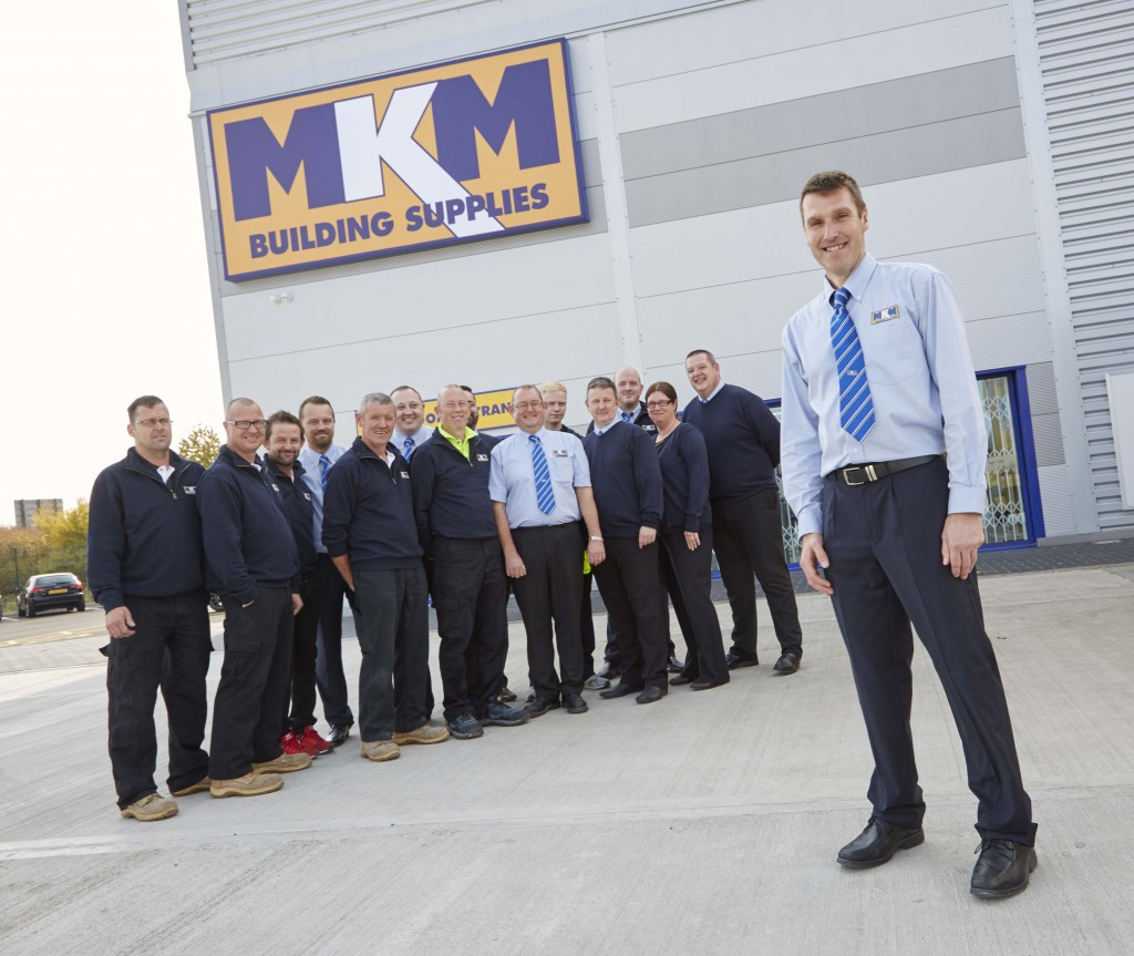 Tony Archer, Brand Director, ready for the branch opening with his team